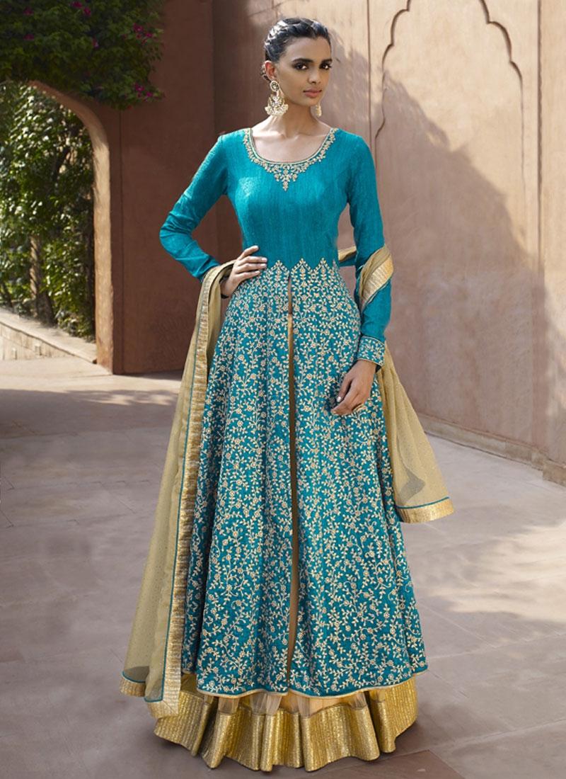 Amazing Bhagalpuri Silk Designer Lehenga Choli