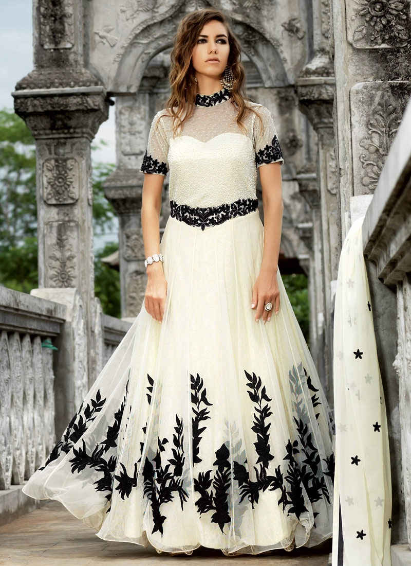 Amazing Cutdana Work Long Length Designer Salwar Kameez