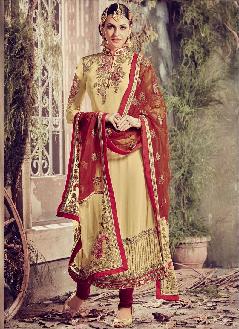 Amazing Embroidery Work Pakistani Salwar Suit