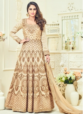 Amusing Banglori Silk Booti Work Floor Length Anarkali Salwar Suit