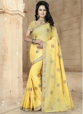 Amusing Trendy Saree For Ceremonial