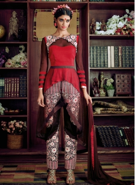 Angelic Embroidery Work Pant Style Designer Suit