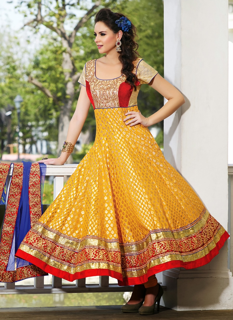 Angelic Kasab Enhanced Anarkali Suit