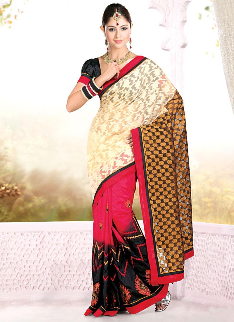 Angelic Multi Color Party Wear Saree