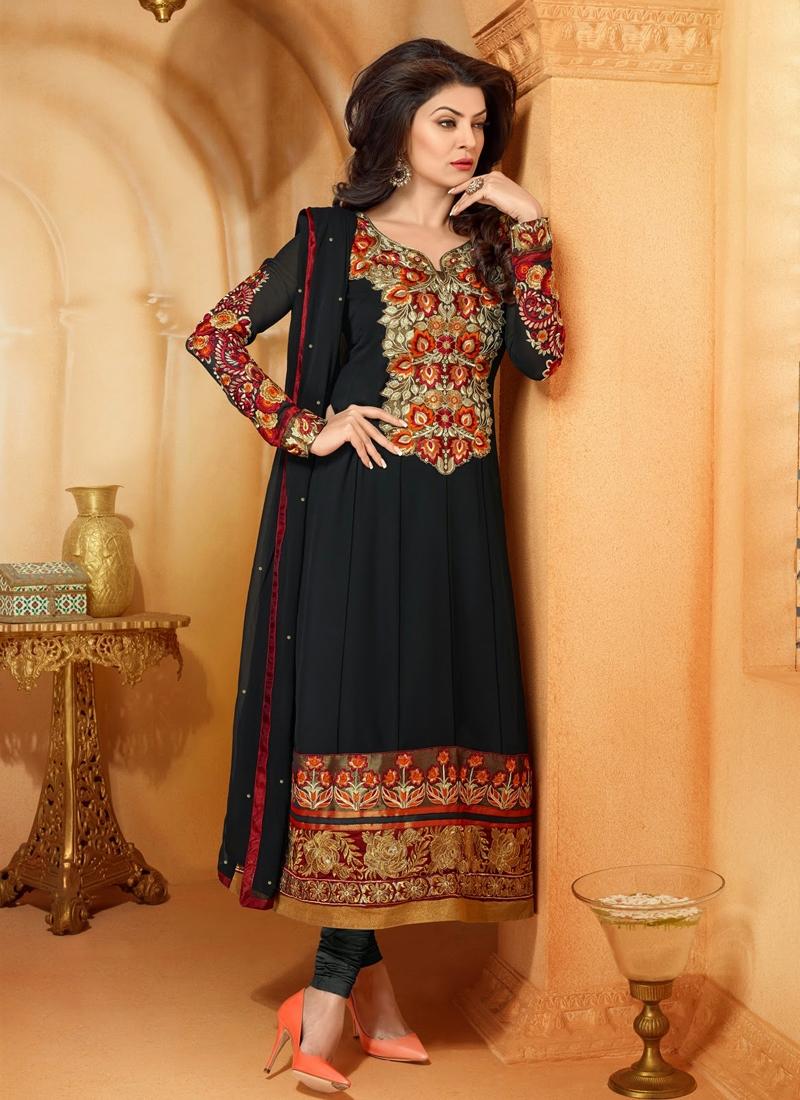 Appealing Georgette Sushmita Sen Bollywood Suit