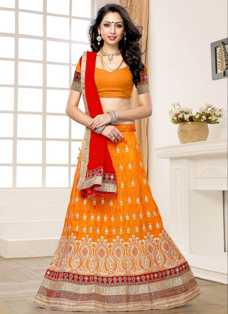 Appealing Resham And Stone Work Wedding Lehenga Choli
