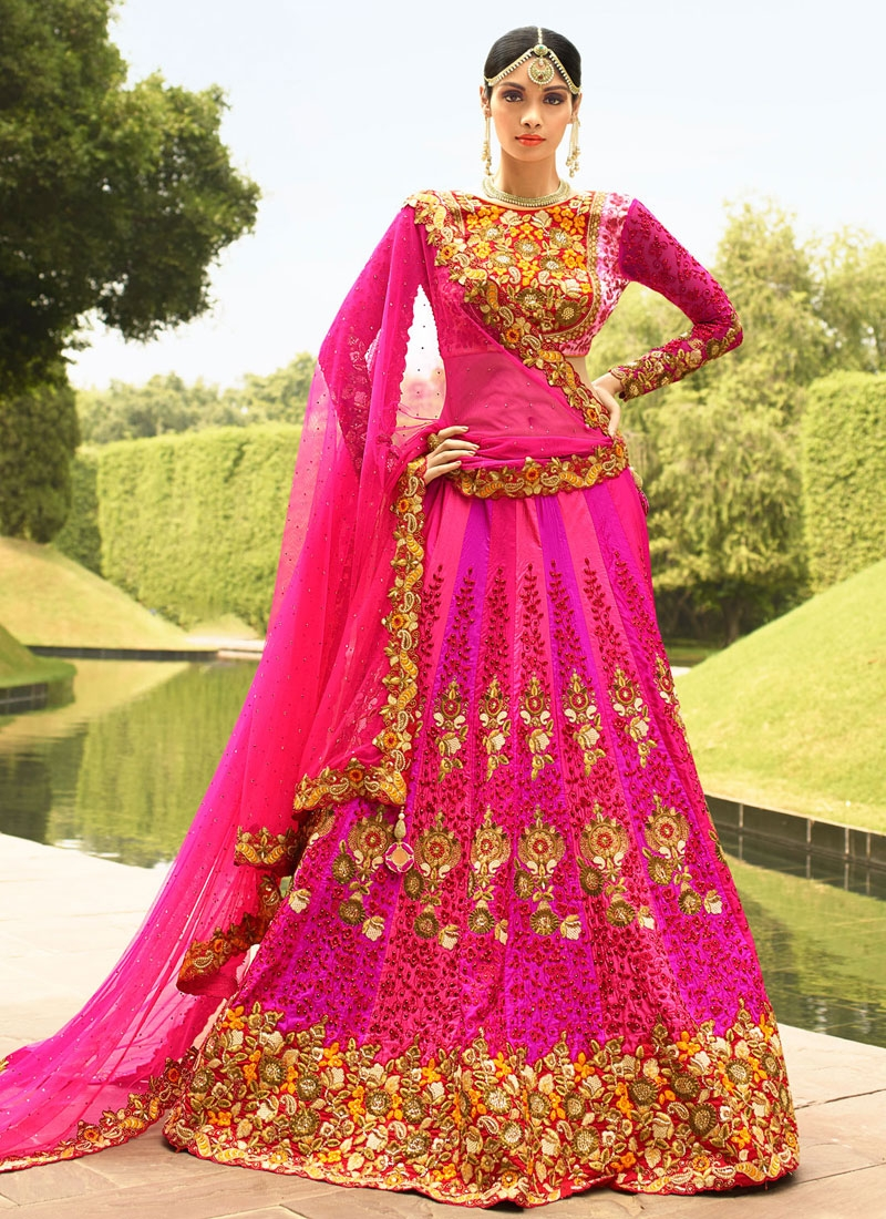 Appealing Sequins Work Wedding Lehenga Choli