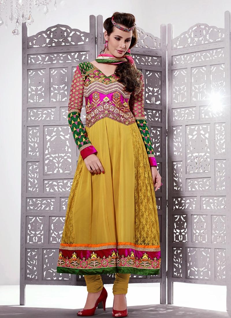Appealing Sequins Work Wedding Salwar Kameez
