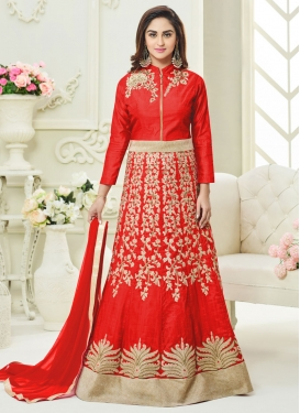 Aristocratic  Anarkali Salwar Suit