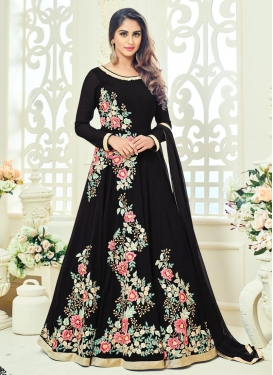 Aristocratic  Faux Georgette Floor Length Anarkali Suit