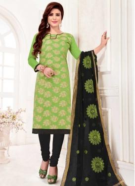 Art Silk Churidar Salwar Suit