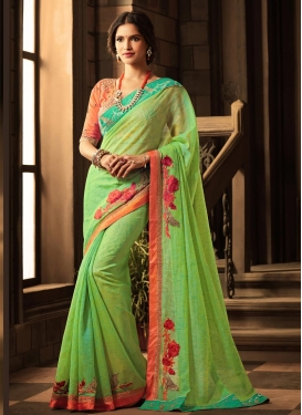 Art Silk Contemporary Saree