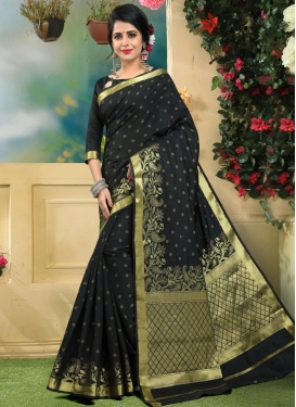 Art Silk Contemporary Saree For Festival