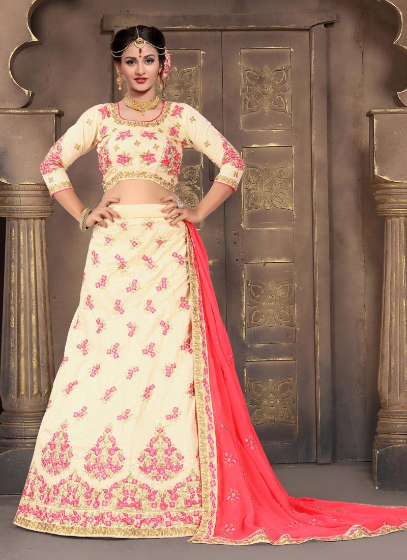 Art Silk Designer Classic Lehenga Choli
