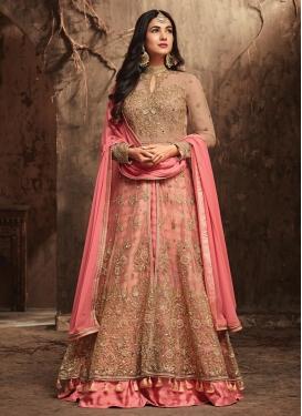 Art Silk Designer Kameez Style Lehenga Choli