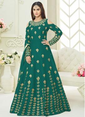 Art Silk Designer Salwar Kameez