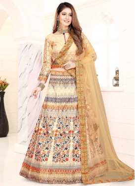 Art Silk Digital Print Work Trendy Lehenga Choli