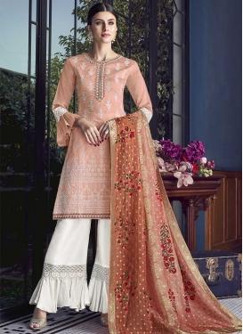 Art Silk Sharara Salwar Kameez