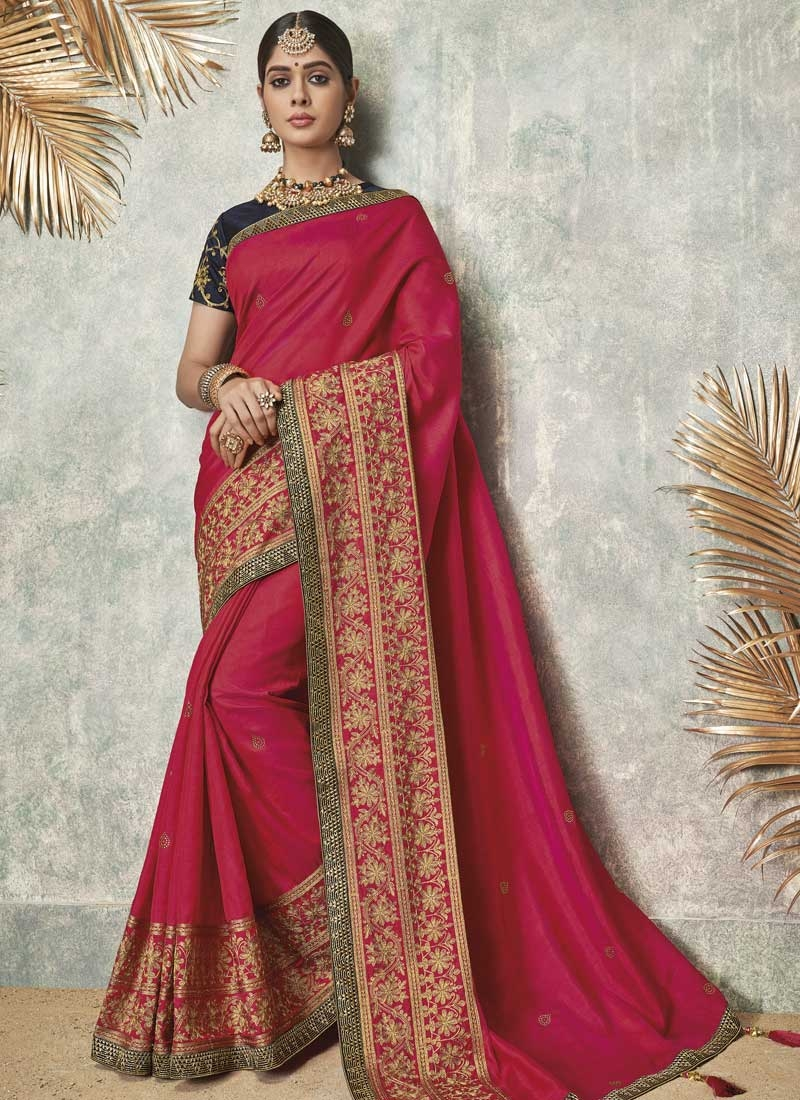 Art Silk Traditional Designer Saree