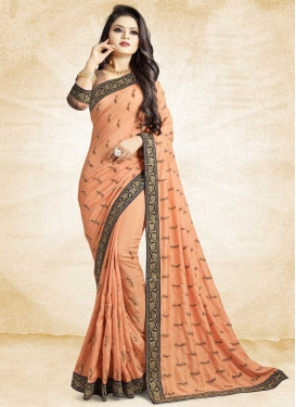 Art Silk Traditional Saree For Festival