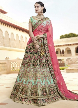 Art Silk Trendy A Line Lehenga Choli