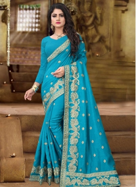 Art Silk Trendy Classic Saree