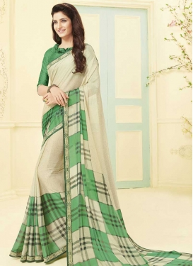 Art Silk Trendy Classic Saree For Casual
