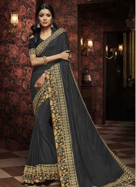 Art Silk Trendy Classic Saree For Ceremonial
