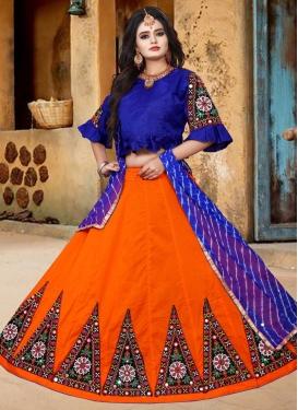 Art Silk Trendy Designer Lehenga Choli