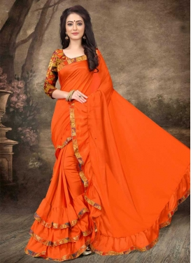 Art Silk Trendy Designer Saree