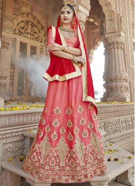 Art Silk Trendy Lehenga