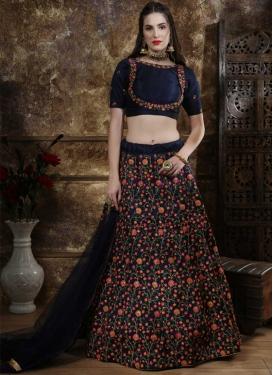 Art Silk Trendy Lehenga Choli