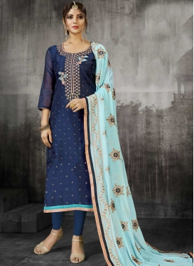 Art Silk Trendy Pakistani Salwar Suit