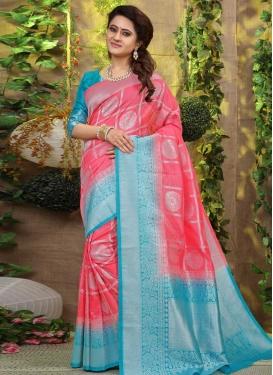 Art Silk Trendy Saree For Festival
