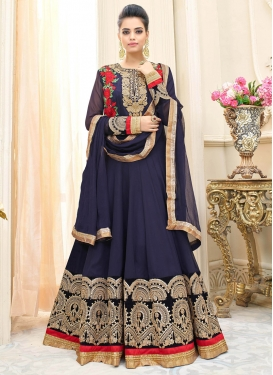 Art Silk Trendy Suit For Party