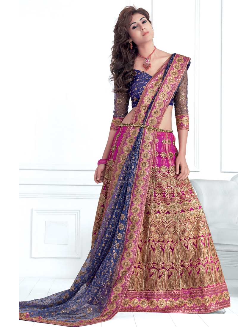 Aspiring Booti Enhanced Lehenga Choli