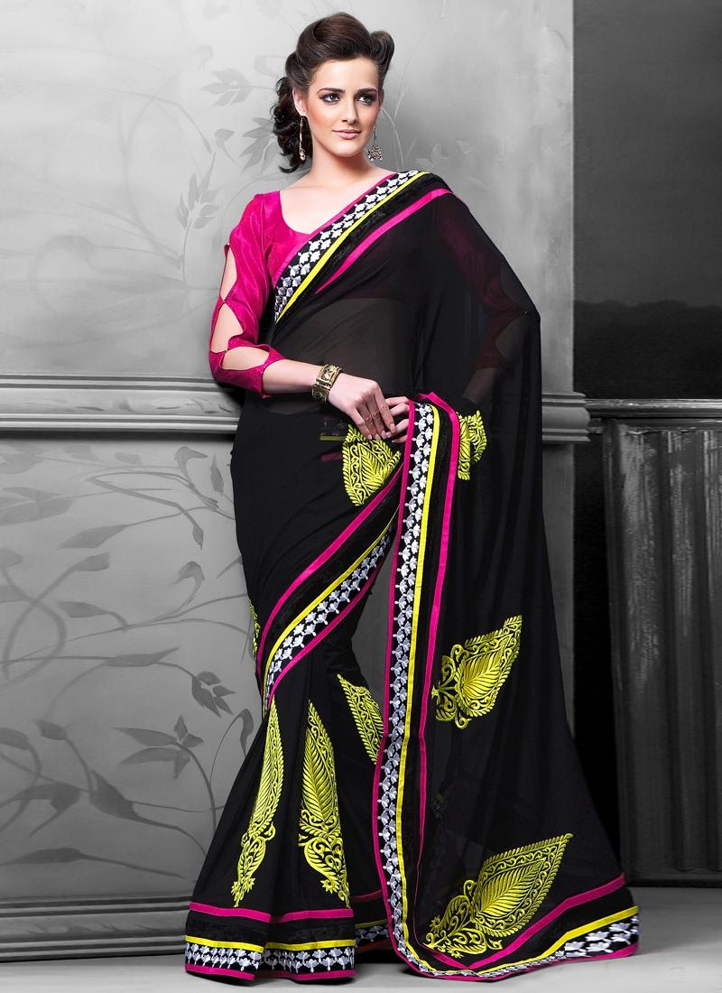 Aspiring Resham Enhanced Casual Saree