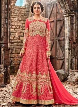 Aspiring  Silk Long Length Salwar Suit