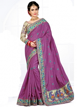 Astonishing Manipuri Silk Booti Work Contemporary Style Saree