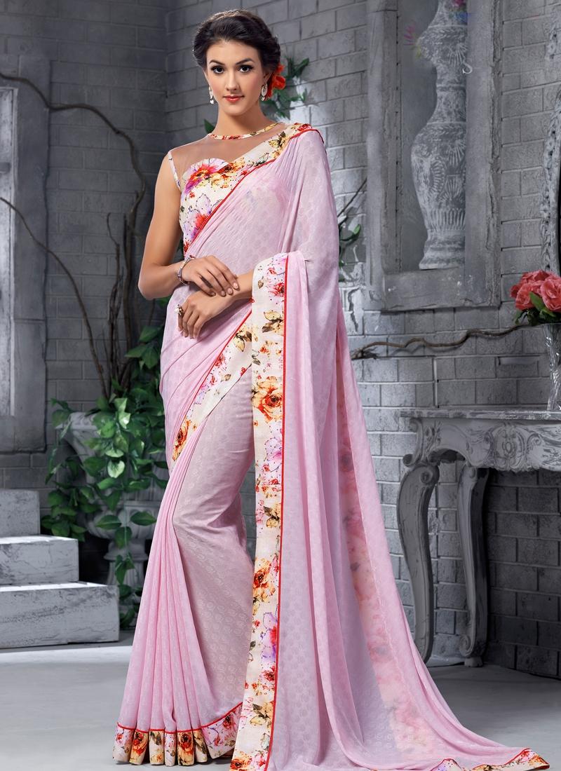 Astonishing Stone Work Party Wear Saree