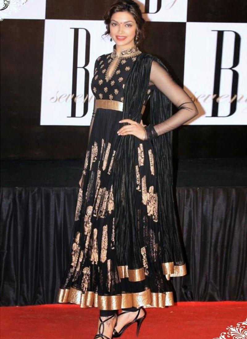 Astounding Deepika Padukone Salwar Suit
