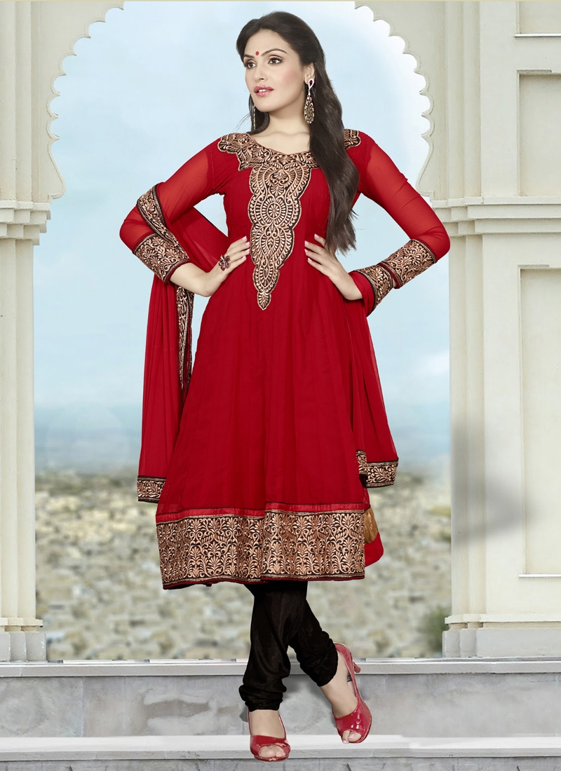 Astounding Karachi Enhanced Party Wear Suit