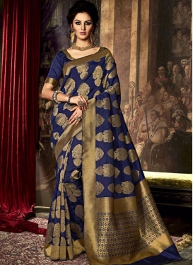 Awe Art Raw Silk Trendy Saree