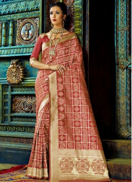 Awe Thread Work Trendy Classic Saree