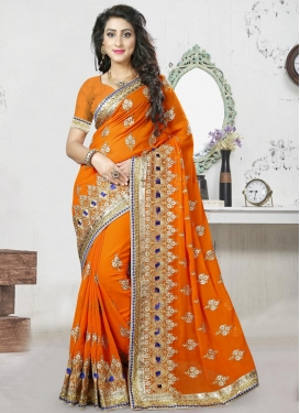 Awe Trendy Saree For Festival