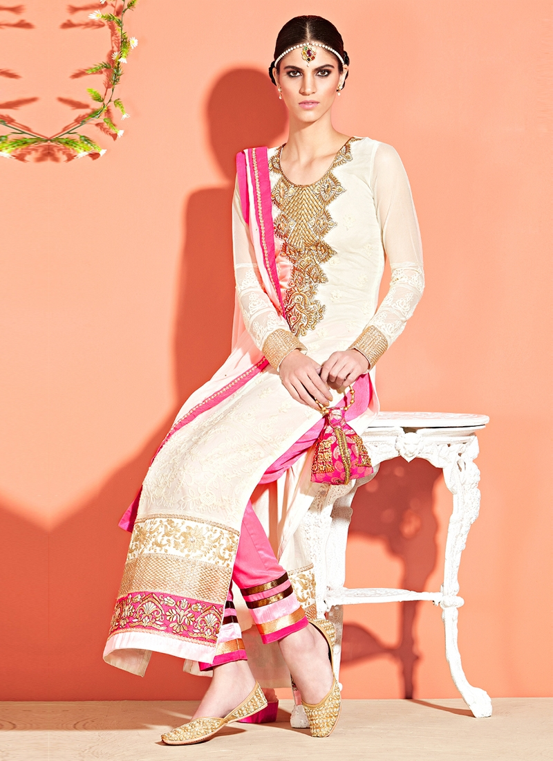 Awesome Kasab Work Party Wear Salwar Suit