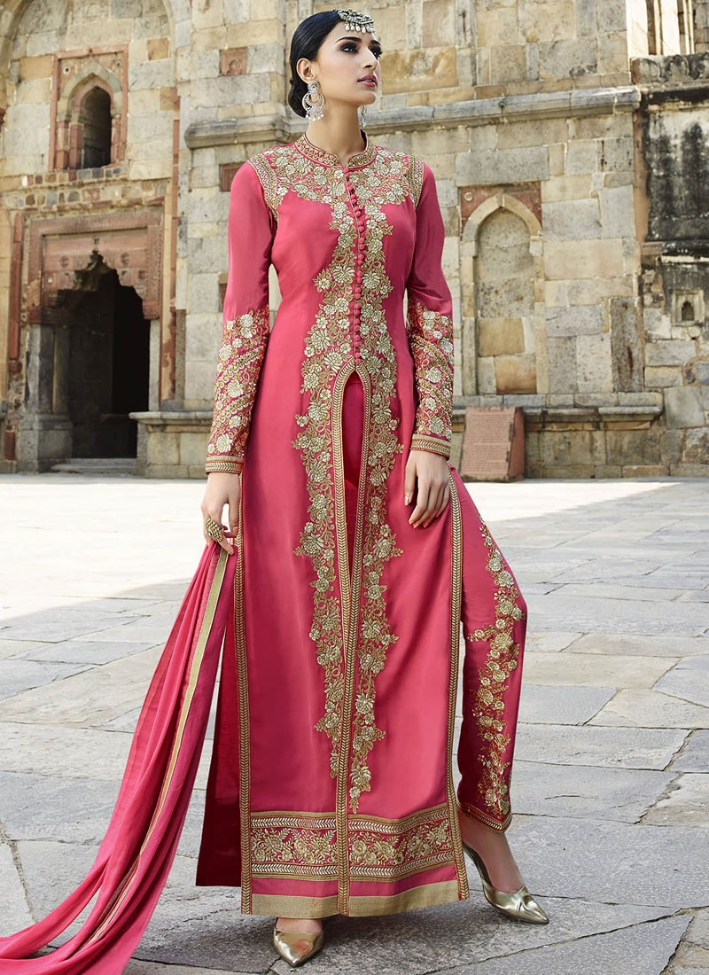 Awesome Stone Work Pant Style Designer Salwar Suit