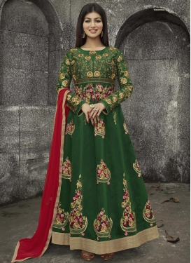 Ayesha Takia Art Silk Anarkali Suit