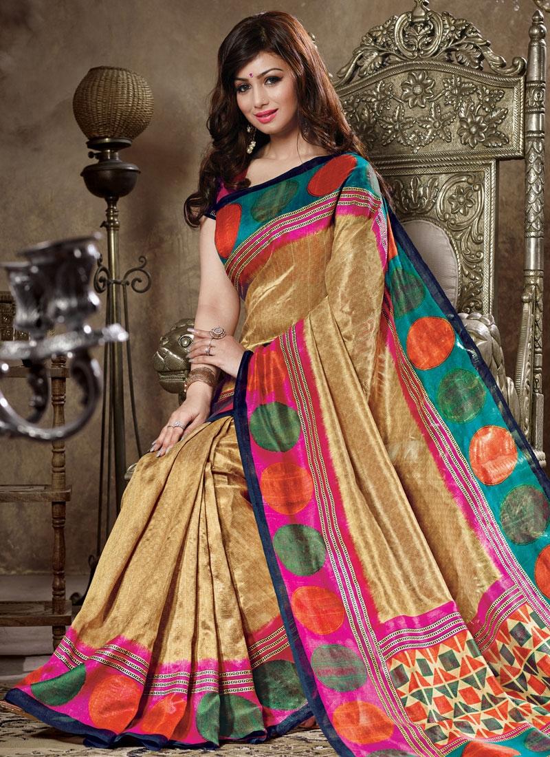 Ayesha Takia Art Silk Casual Saree