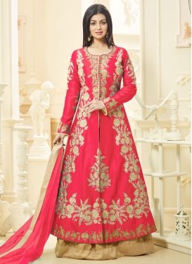 Ayesha Takia Art Silk Designer Kameez Style Lehenga Choli